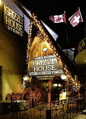Grizzly House Front Entrance